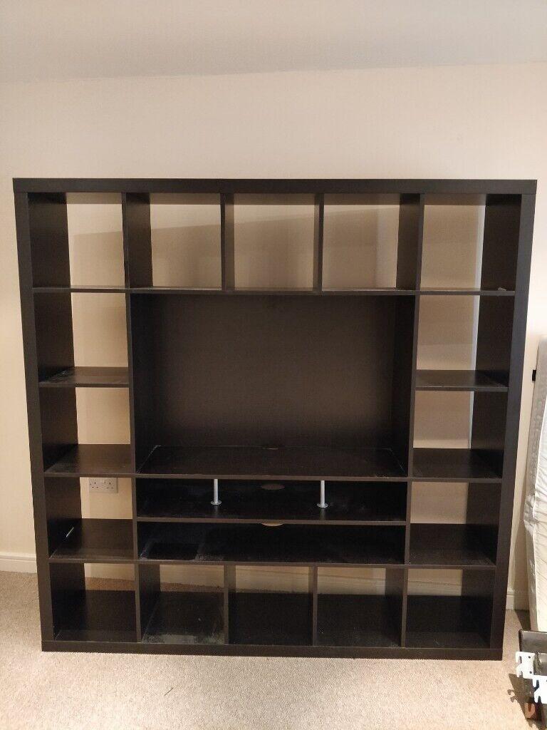 Brown/black Ikea TV Storage Wall Unit   in Saintfield ...