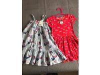 Brand new summer dresses 4-5y