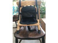 Portable booster seat/high chair - Handysitt