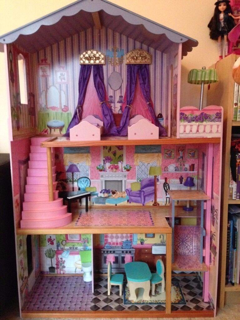 Dolls House Kidkraft for Barbie size dolls