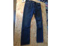 BNWT Straight Cut Ralph Lauren Washed Jeans 34x34