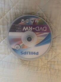 Philips DVD-RW discs
