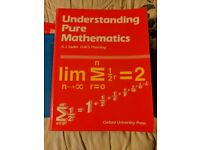 Understanding Pure Mathematics textbook