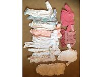 First size and upto 1 month girls bundle