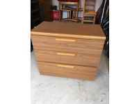 Chest of 3 drawers - collection only