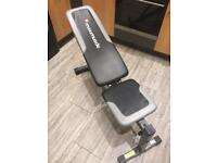 Maxi muscle free weights bench