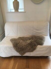 Ikea sofa bed , clean mattress , Needs a couple of new slats