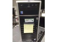 HP Proliant ML110 G4 server/workstation, Intel Xeon Dual-Core 3040 1.86GHz CPU 8GB RAM 750GB x2 HDD
