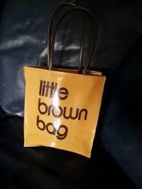 Bloomingdales little brown bag