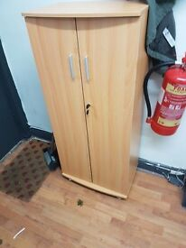 Tall Lockable Cabinet