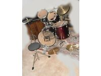 Old Drum kit for sale spares or repair