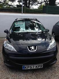 Peugeot 207 1.4 only 68k 12 months mot 6 months warranty