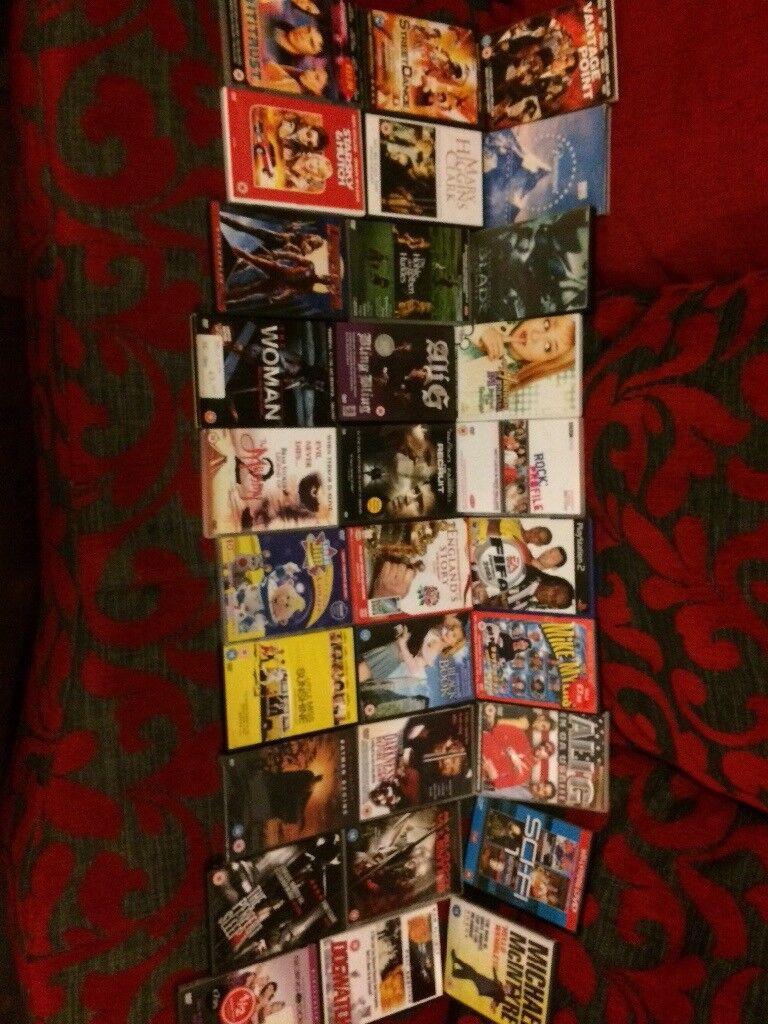 Job Lot of 30 Dvd's