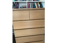 IKEA 6 drawer chest of drawers