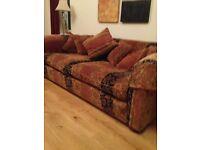 Very large unusual sofa