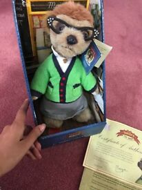 6 Collectable Meerkat Soft Toys BNIB
