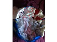 Huge bag of baby girl clothes, 0-3 months