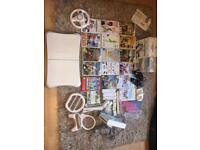 Nintendo Wii with 17 Games inc. Wii Fit Balance Board