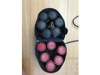Nicky Clarke Compact Travel Heated Rollers Set Of Twelve