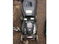 self propelled petrol lawn mower
