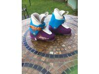 Unisex Junior Fischer Ski Boots Mondo 18.5