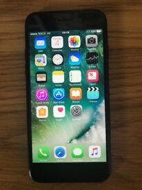 Apple IPhone 7 Black 32gb unlocked Perfect condition