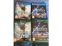 Star Wars battlefront 1/2 Xbox one/ps4