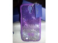 Genuine Swarovski - Thao Purple Smartphone Incase - Samsung Galaxy S4