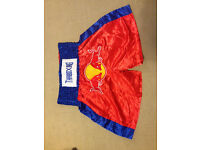 New - Muay Thai Shorts - Red/Blue - XL [from Thailand]