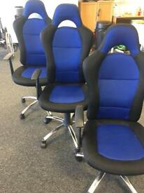 Office Chairs x 10