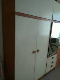 Set of wardrobe