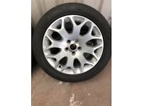 ford alloy wheels excellent cond