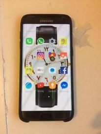 Samsung Galaxy s7 edge black 32GB O2, tesco