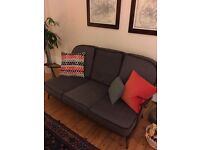 Vintage Ercol Three Seat Sofa with new webbing,