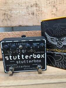 Solidgold FX Stutter Box Tremolo Effects Pedal Moorooka Brisbane South West Preview