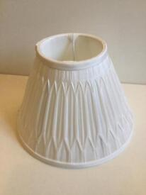 Laura Ashley stunning white lampshade BRAND NEW