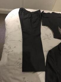 Charcoal Grey 3-piece Suit