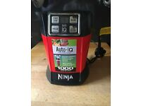 Nutri Ninja Personal Blender with Auto-iQ 1000W – BL480UK – Red/Black
