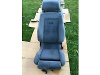 Rs cosworth seats front and rear