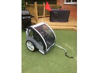 Infantastic bike trailer (White/Gray)
