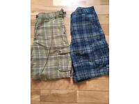 Airwalk shorts x 2