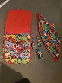 Customized bugaboo marvel fabrics