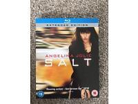 Salt Blue Ray Angelina Jolie *Reduced*