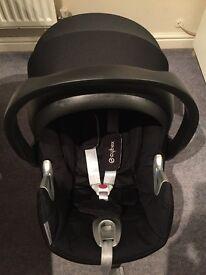 Cybex Aton Q GROUP 0 car seat plus isofix base
