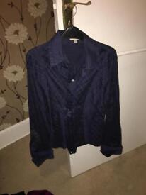 River island and Karen millen blouses / shirt women's size 16