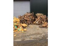 We can take your waste wood! Scrap Timber! Off Cuts! Pallets!
