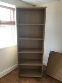 ### SOLD ### Sturdy 5 shelf bookcase £35 ovno