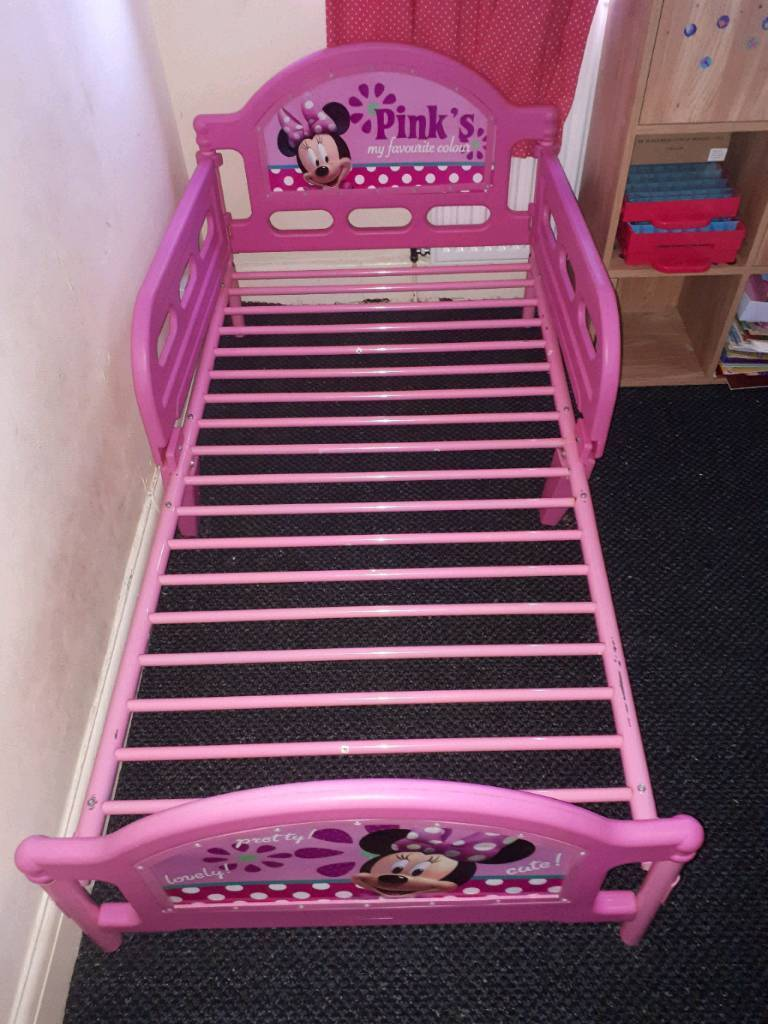 Minnie Mouse Toddler Bed Frame In Stockport Manchester Gumtree