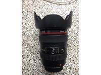 24-105 mm Canon L Series Lens (£400)