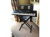 Yamaha EZ-220 Keyboard and Stand